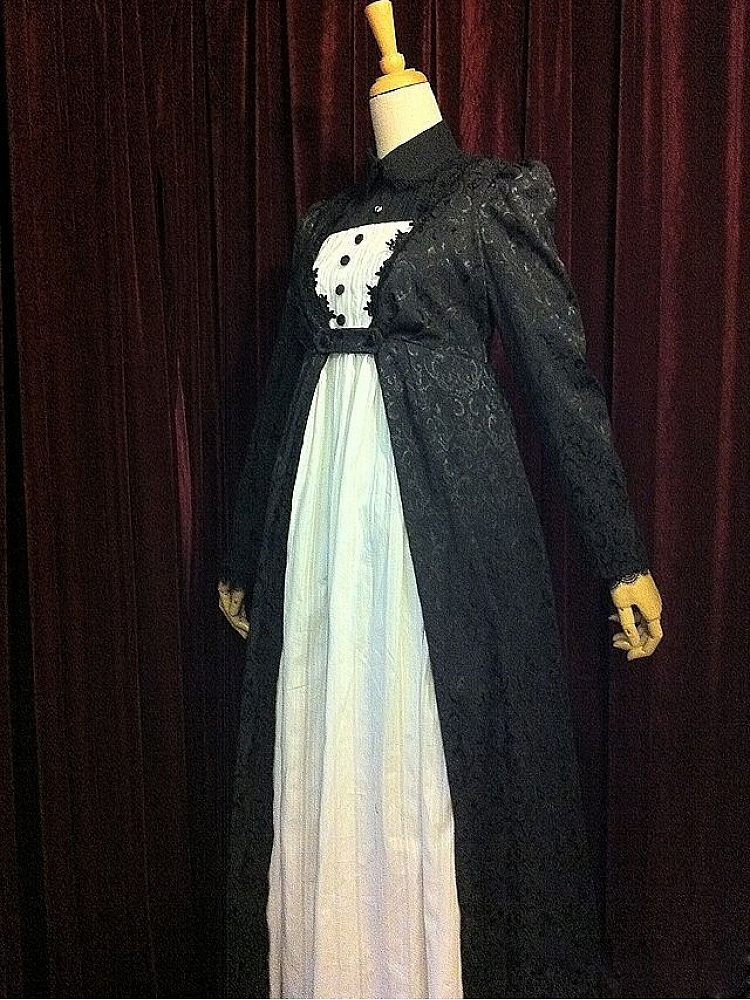 Custom Fake Two-Pieces Empire Line Gown by Surface Spell