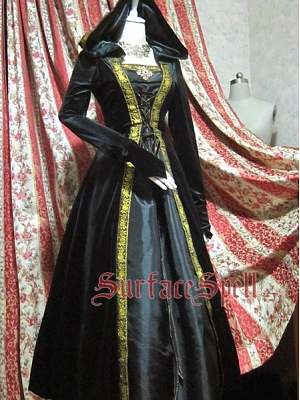 Custom Size Available Huge Hooded Gown by Surface Spell