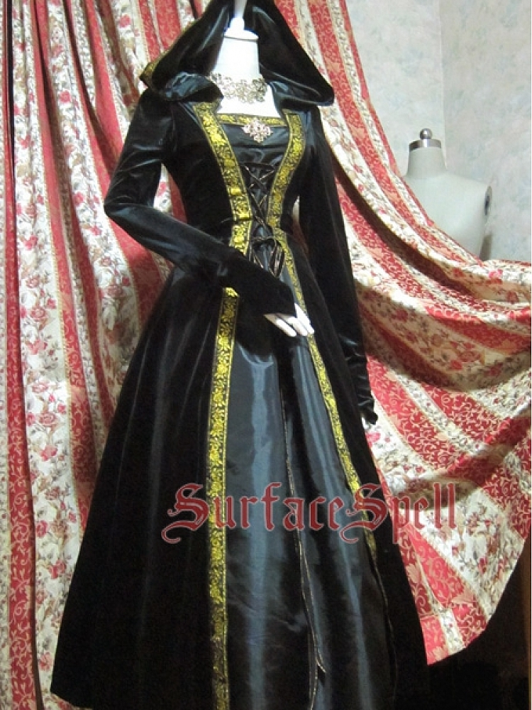 Custom Huge Hooded Gown by Surface Spell