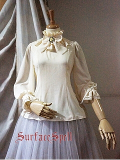 Custom Size Available Bourbon Loose Fitting Blouse by Surface Spell