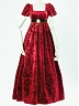 Custom Size Available Brocade Velvet Empire-Waist Gown by Surface Spell