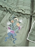 Waterfront of Blooming Thyme Embroidery Half Bishop sleeves OP by Surface Spell