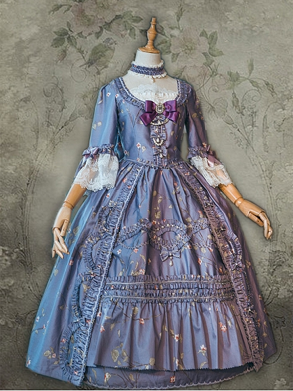 Les Roses Court Gown by Surface Spell