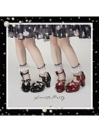 Alice's Key Classic Lolita High-heel Shoes by Secret Party