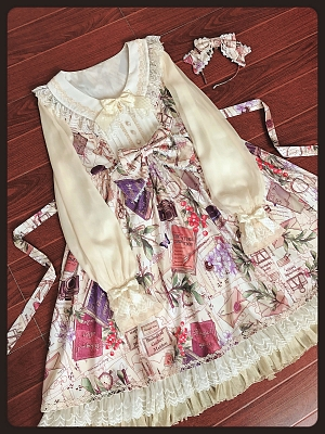 Book and Other Items Miscellaneous Printed Empire-Waist OP by Shimotsuki Sakuya