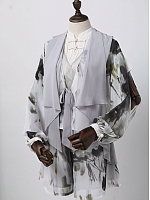 Pre-order Ink Dyed Chinese-style Jackets and Pants  by Susin Lolita
