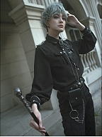Alpha Military Style Blouse by Susin Lolita