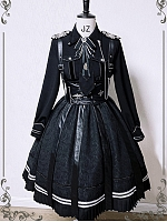 Alpha Military Style Skirt by Susin Lolita