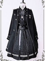 Alpha Military Style Cape by Susin Lolita
