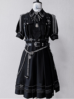 Alpha Military Style OP Ouji Lolita Dress by Susin Lolita