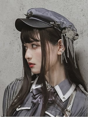 Alpha Military Style Matching Hat by Susin Lolita