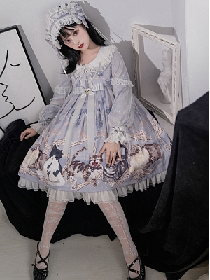 Four Cats Lolita Dress OP by Star Cat Lolita