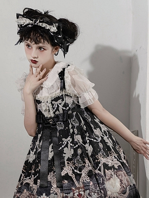 Four Cats Lolita Dress Matching KC by Star Cat Lolita