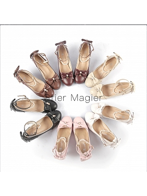Various Stars Two-versions Heels Shoes by Stier Magier