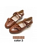 Girls Love Chocolate Round-head Shoes by Stier Magier