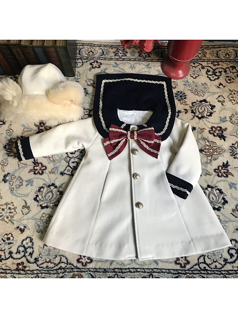 Sailor Woolen Coat Kids Version by Starwish