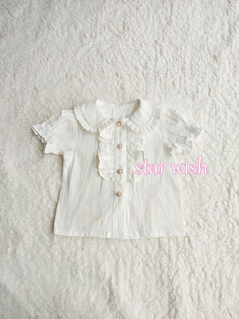 Peter Pan Collar Blouse Kids Version by Starwish