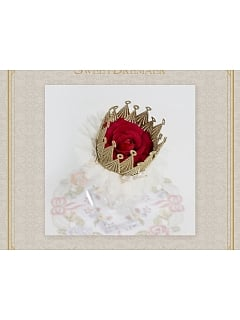 Little Princekin Rose Crown Hairclip by Sweet Dreamer