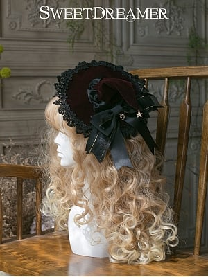 Witch House Halloween Witch Hat by Sweet Dreamer