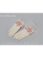 Butterfly Decorated Gloves by Sweet Dreamer