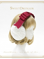 Layered Bowknot Decorated Earmuffs by Sweet Dreamer