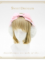 Bowknot Decorated Earmuffs by Sweet Dreamer