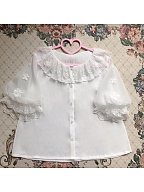 Flower Picture Book Lolita JSK Matching Shirt by Sweet Fragrant