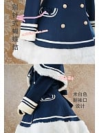 Sailor Style Winter Version Woolen Set by Strawberry Witch