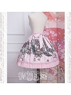 Chipball's Fairy Tale World Skirt by Strawberry Witch