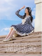 Sailing on the Rhine Plaid Sailor Collar OP by Strawberry Witch