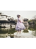 Pre-order Cherry Blossoms and Water Lights Short/Long Sleeve OP by Strawberry Witch