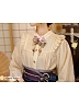 Pre-order Cherry Blossoms and Water Lights Kimono Styled Blouse by Strawberry Witch