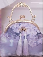 Pre-order Cherry Blossoms and Water Lights Handbag by Strawberry Witch