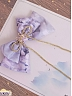 Pre-order Cherry Blossoms and Water Lights Single Hairclip by Strawberry Witch