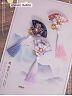 Pre-order Cherry Blossoms and Water Lights Folding Fan Hairclips Set by Strawberry Witch