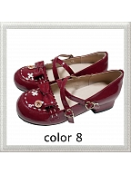 Little Doll Low-heel Shoes by See You Lolita