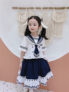 Ponny Bunny Sailor Suit for Kids Doll Paradise by To Alice
