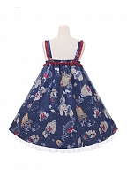 Sailor Bunny Prints JSK Doll Paradise by To Alice