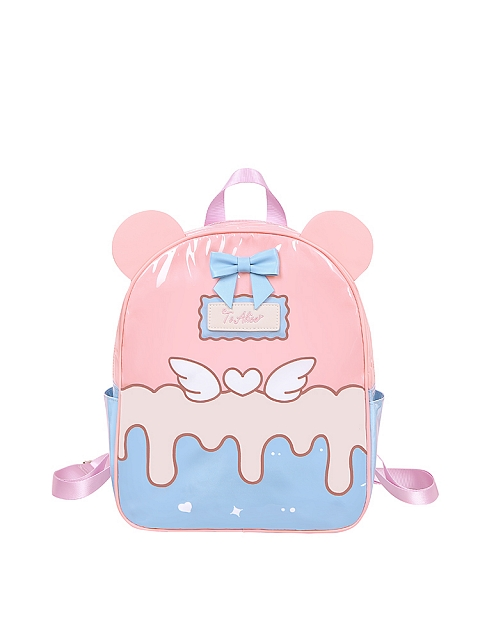 Bear Cream Backpack by To Alice