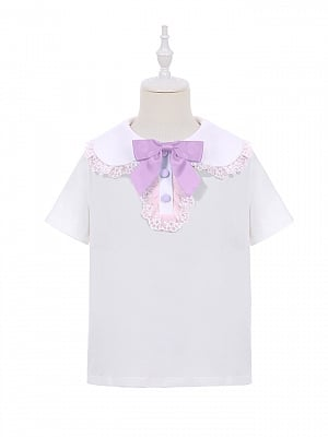 Sweet Mouse Lolita Dress Matching Blouse for Kids by To Alice