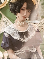 Sunflower Painting Matching Neckline Doll Paradise by To Alice