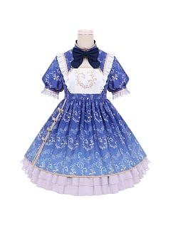 Puppy Panda Qi Lolita Dress Doll Paradise by To Alice