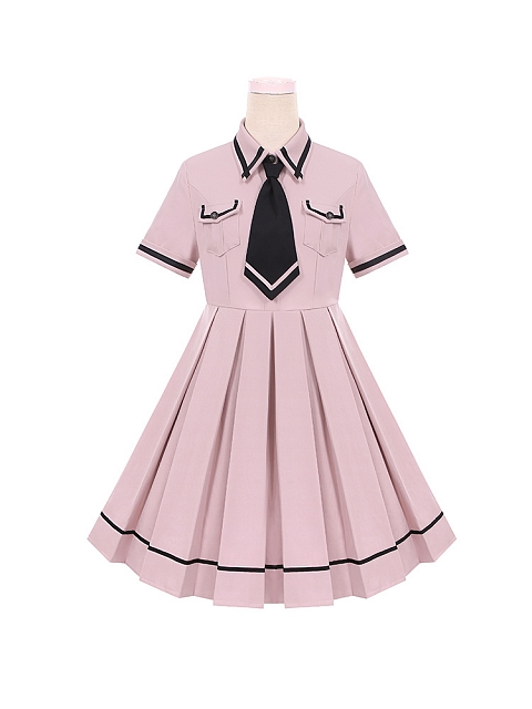 Sanction Girls Cool OP Uniform Style Pleated Skirt by To Alice