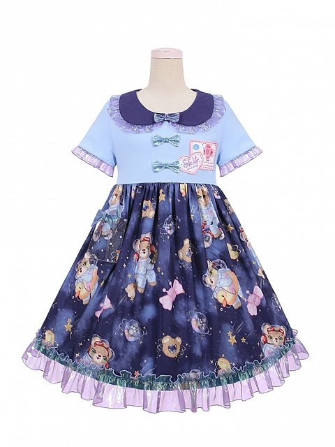 Animal Space Agency Lolita Dress OP Doll Paradise by To Alice
