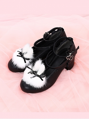 Matte Lolita Shoes Replaceable Shoe Clips Available by To Alice