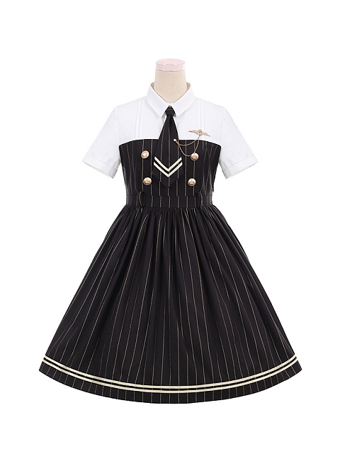 Covenanter Military Style Lolita Dress OP by To Alice