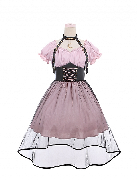 Eclipse Sweetheart Neckline /Off Shoulder Lolita Dress OP by To Alice