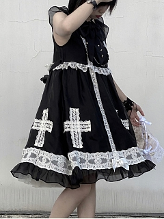 Wayfarer Chapel Old School Lolita Dress JSK by To Alice
