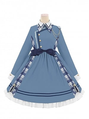 The Idol Lolita Dress Long Sleeves OP by To Alice
