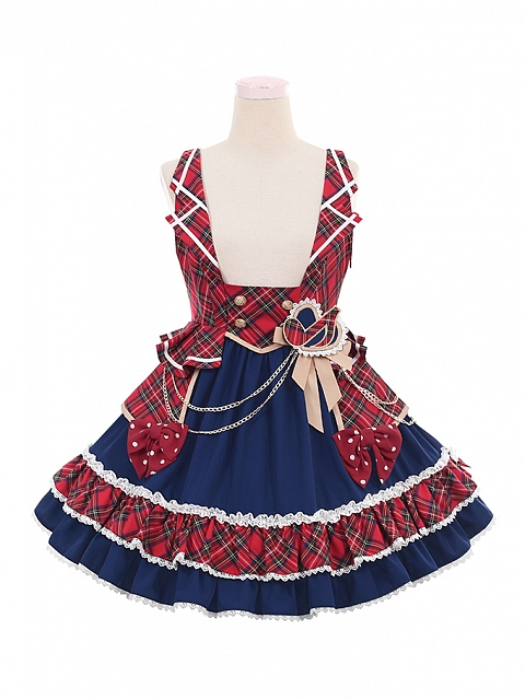 Musical Note Idol Lolita Strap Dress Doll Paradise by To Alice